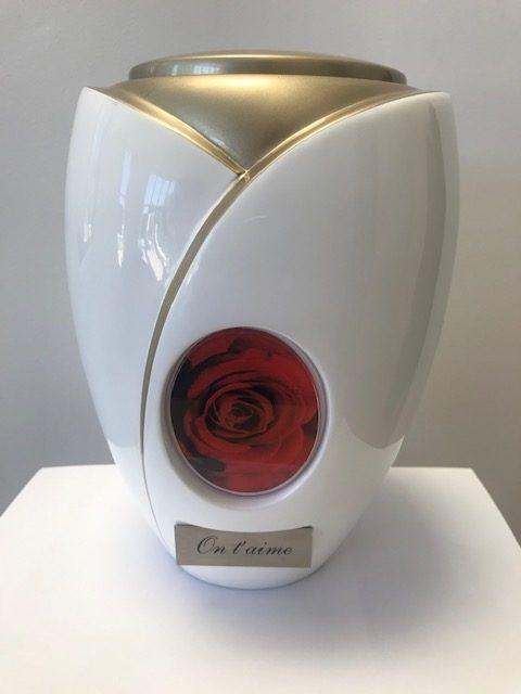 Urne Rose personnalisable